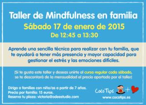 Taller mindfulness en familia 17 enero 2015