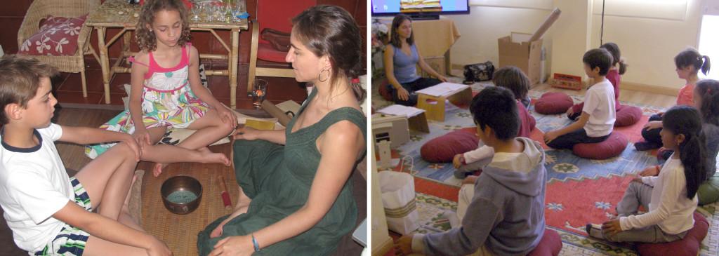 Meditación e inteligencia emocional para niños