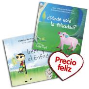Compra 2 cuentos y aprovecha el PRECIO FELIZ