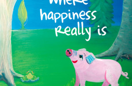Where happiness really is (Inglés)