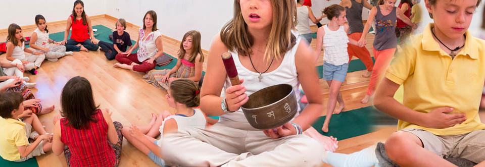 Cursos de mindfulness para niños y familias