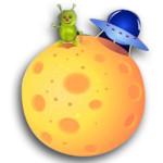 planeta con marciano