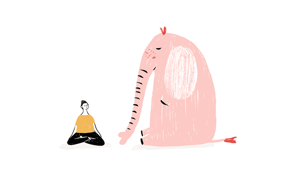 mindfulness para ti ilustración - cocotips
