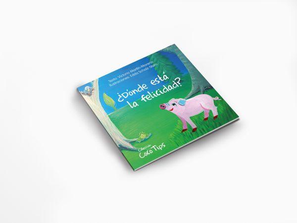 Libro paraniños y adultos Dónde está la felicidad portada - cocotips