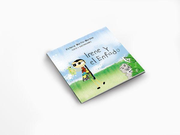 Libro para niños y adultos Irene y el enfado portada - cocotips