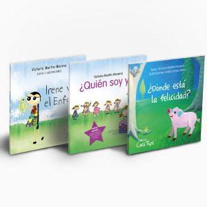 3 libros de la colección Coco Tips