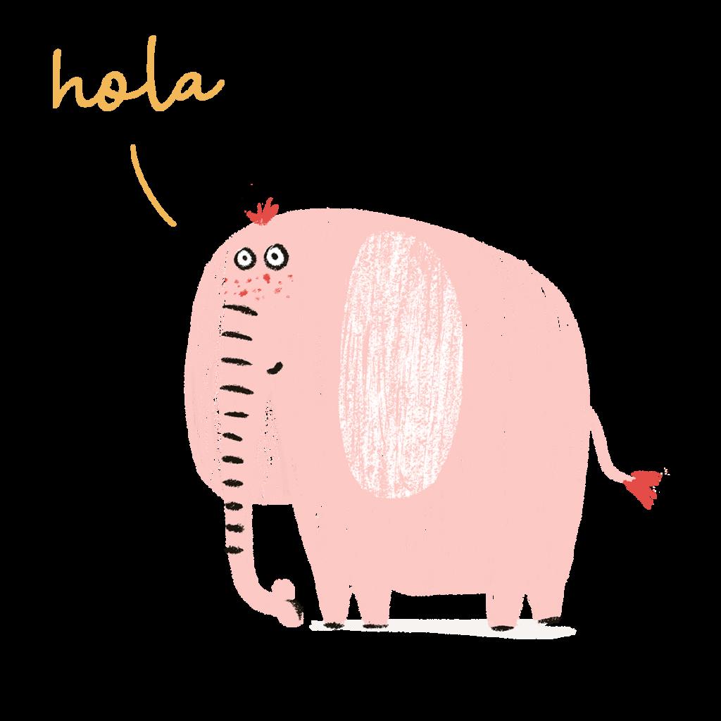 mindfulness y el elefante ilustración - cocotips