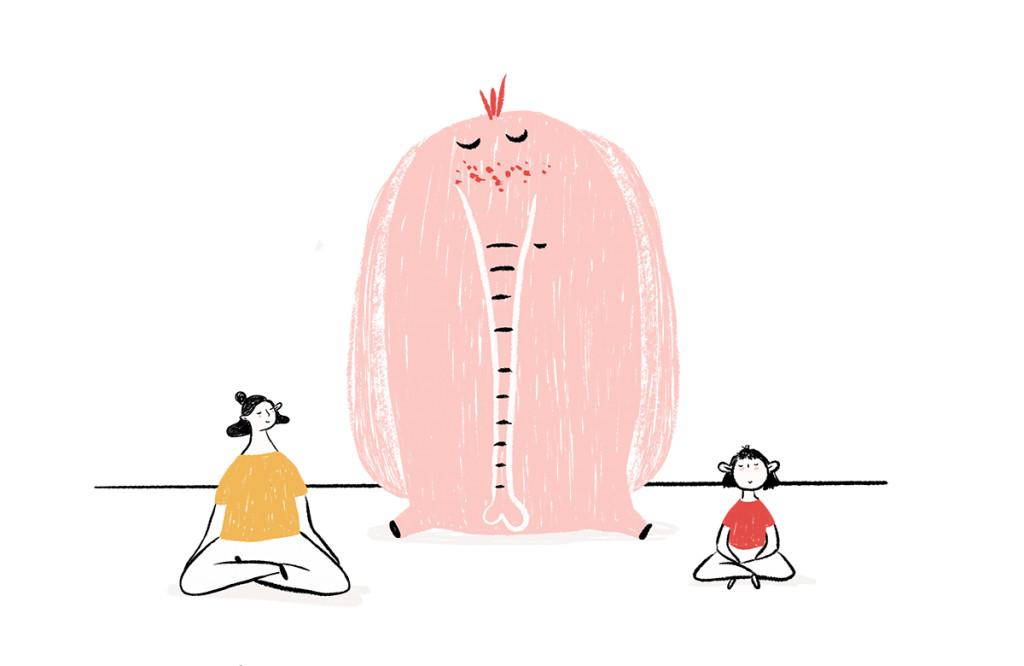 mindfulness para quien quiera ilustración - cocotips